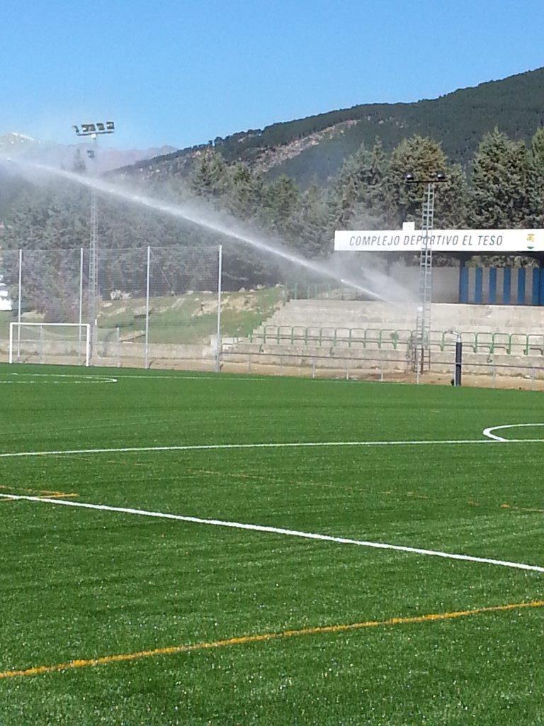 riego automático campos futbol
