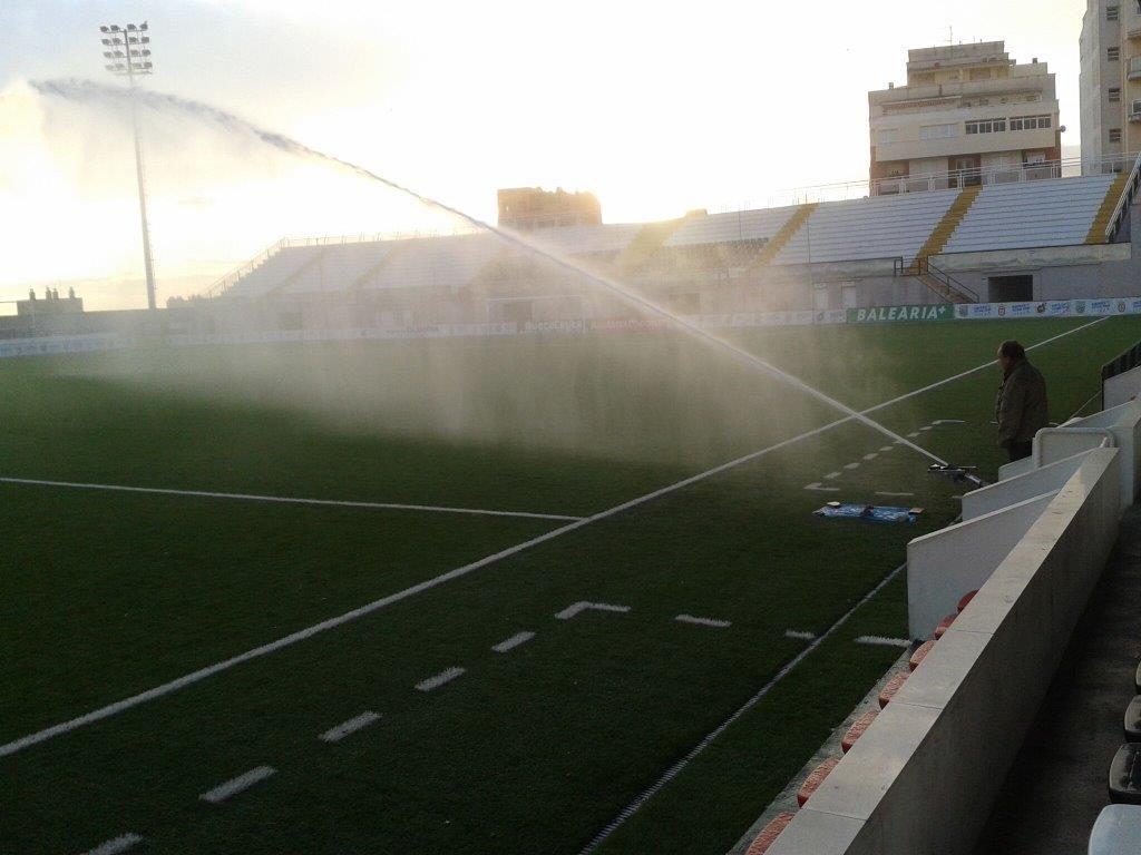 riegos campos de fútbol
