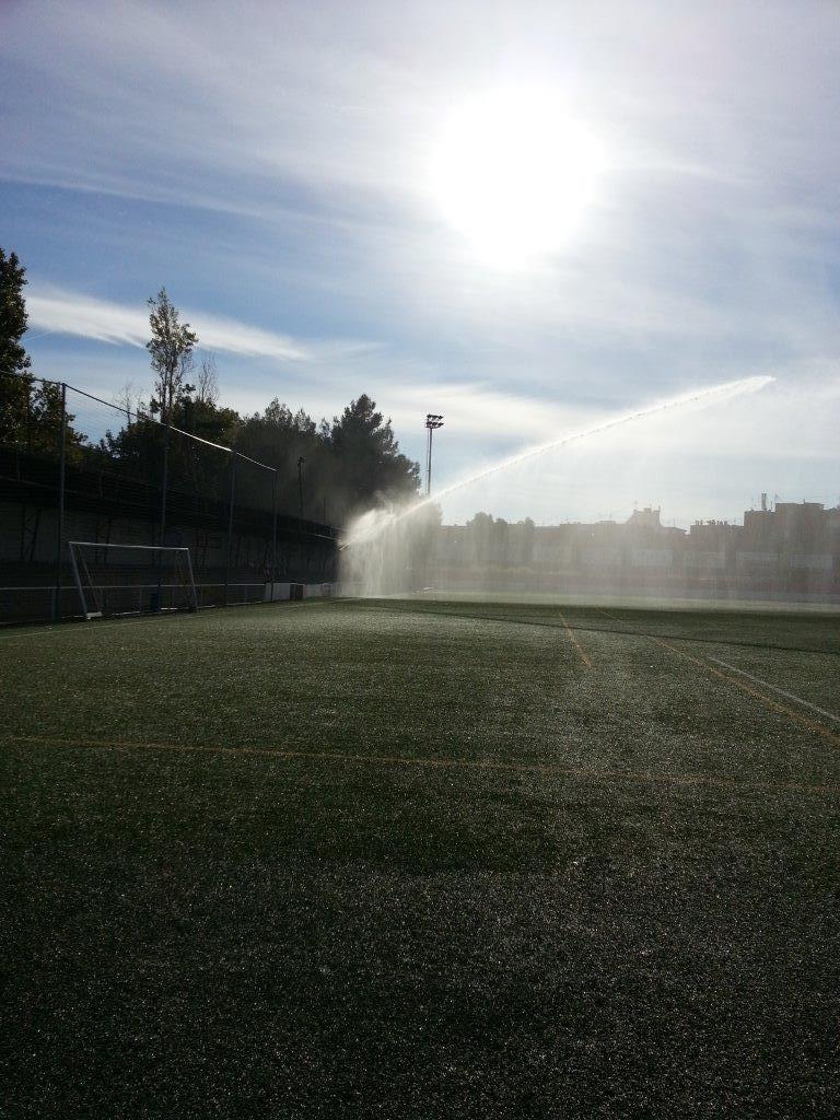 riegos automáticos campos hockey sobre hierba