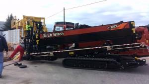Perforadora JT60 All Terrain entrega España
