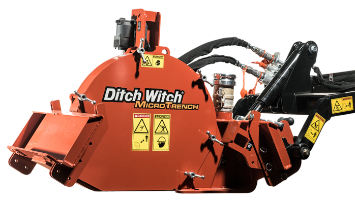 Microzanjadora Ditch Witch MT9