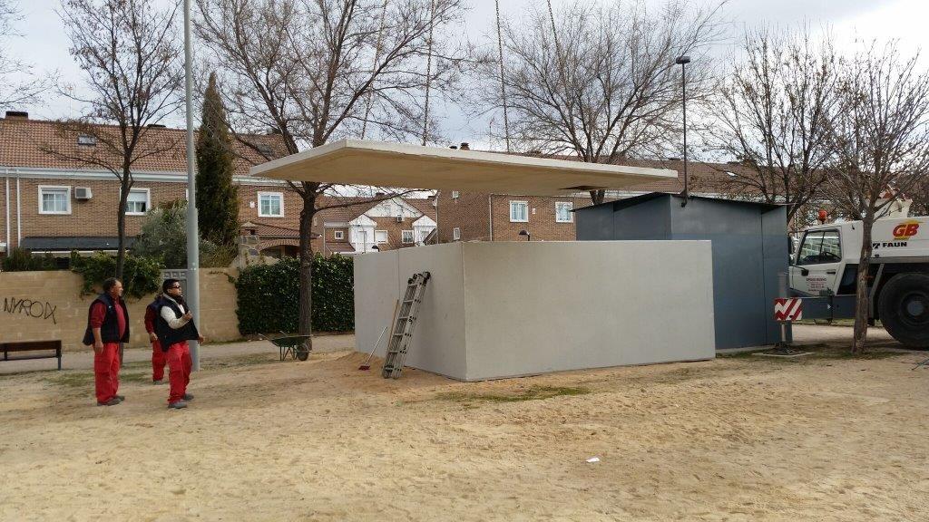 instalación bombas de elevación agua