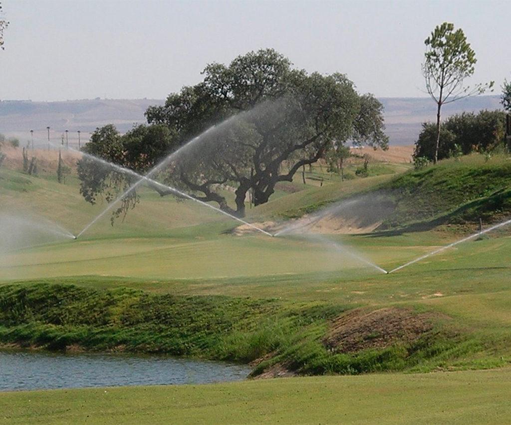riegos campos de golf