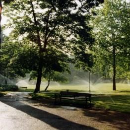 instalación riego automático parques y jardines