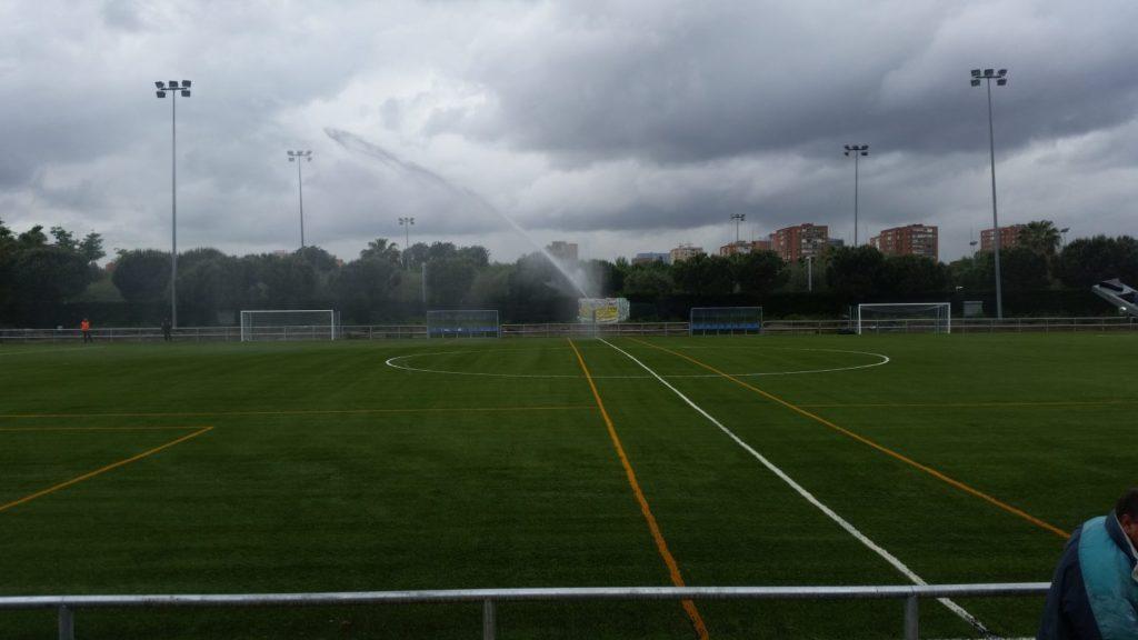 Campo de futbol hierba artificial en Manzanares