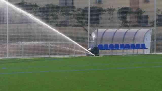Riego automático, Campo de entrenamiento Atlético de Madrid