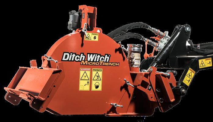 Microzanjadora Ditch Witch MT9